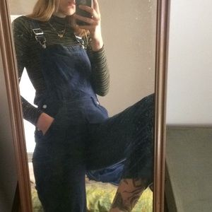 Royal Blue Overalls